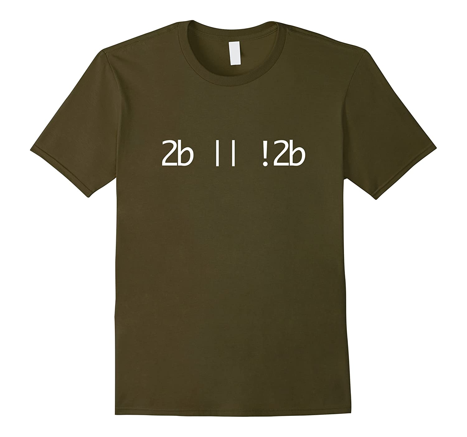 2b || !2b - To Be or Not to Be Programming T-Shirt-Rose