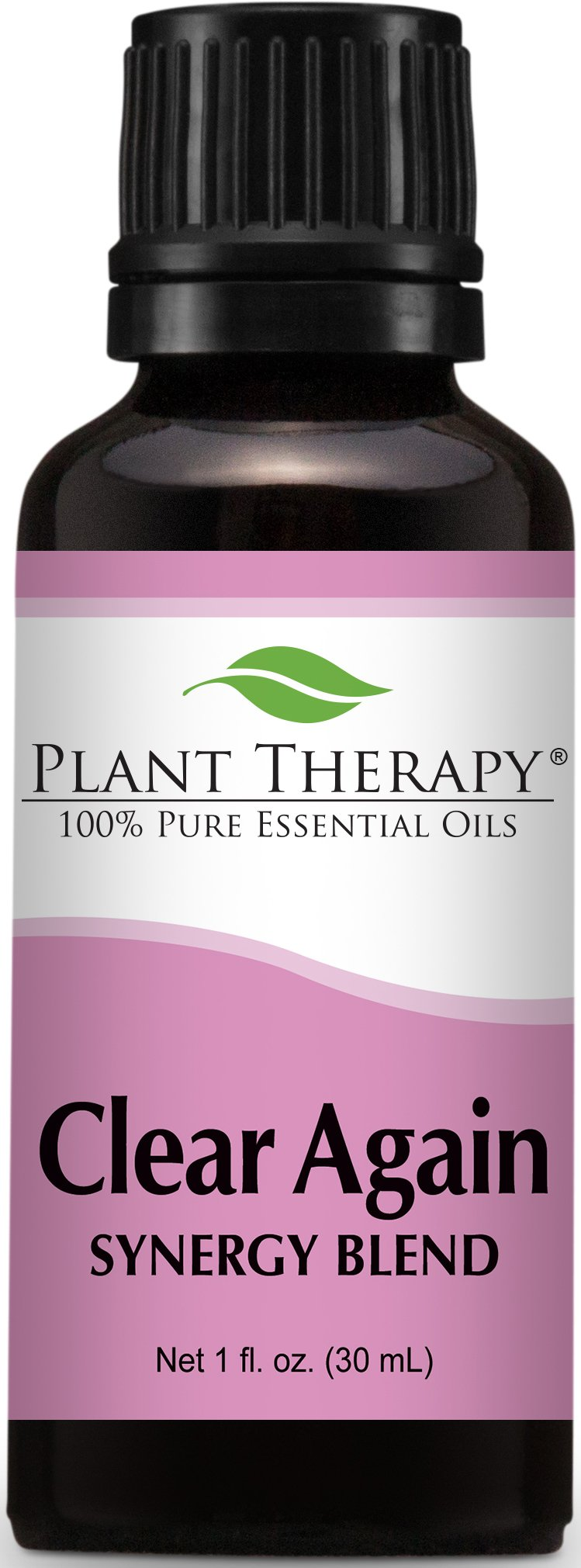 Plant Therapy Clear Again Synergy Essential Oil Blend 30 mL (1 oz) 100% Pure, Undiluted, Therapeutic Grade by Plant Therapy