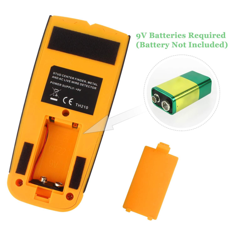 CTlite - Detector de metales para escáner de pared multifunción 3 en 1 (incluye cable de CA, metal, madera): Amazon.es: Bricolaje y herramientas