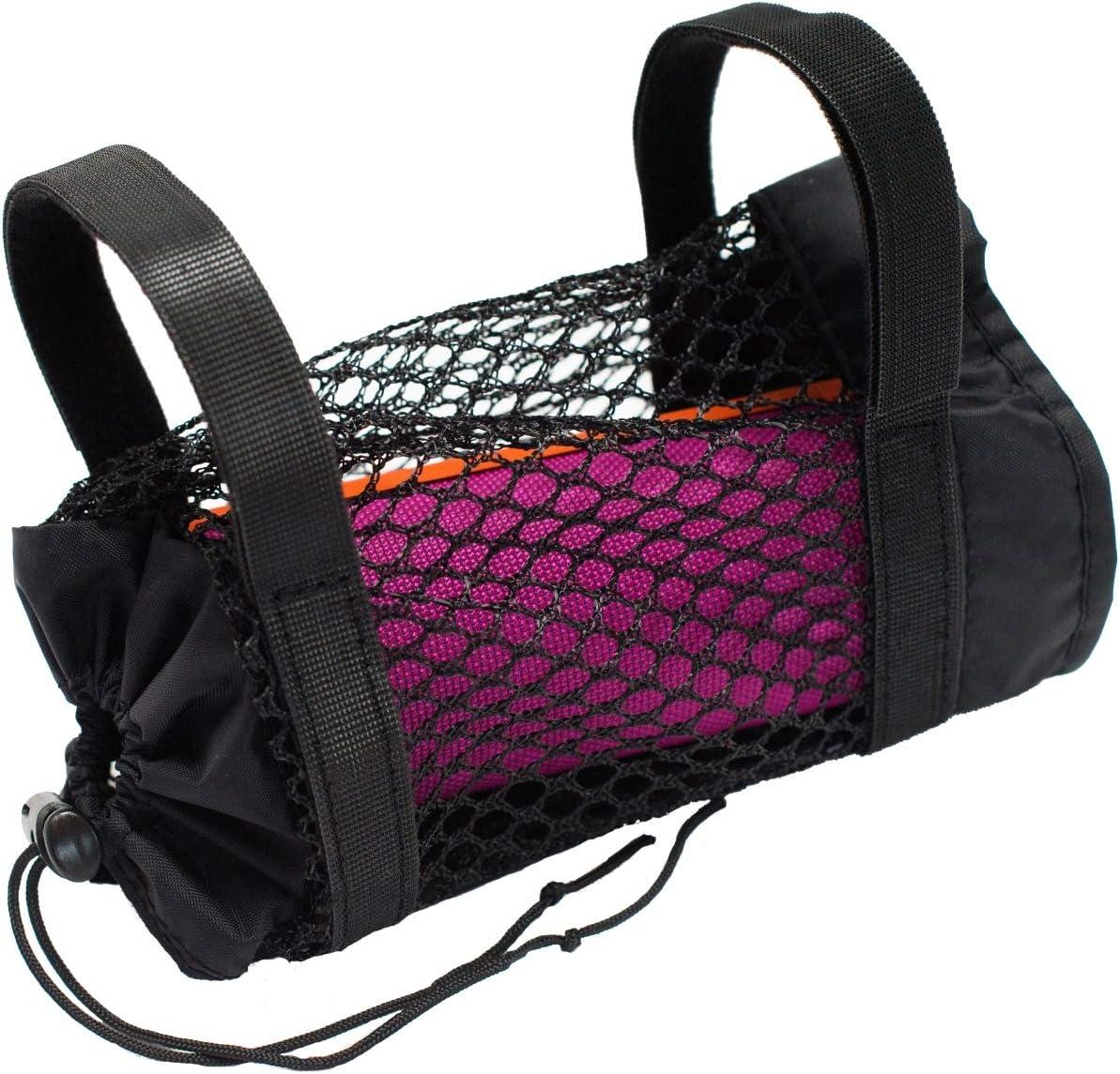 Portable Speaker Holder for Bikes, Adjustable Strap Mobile Case, Bicycle Riding Mount Attachment (Medium)