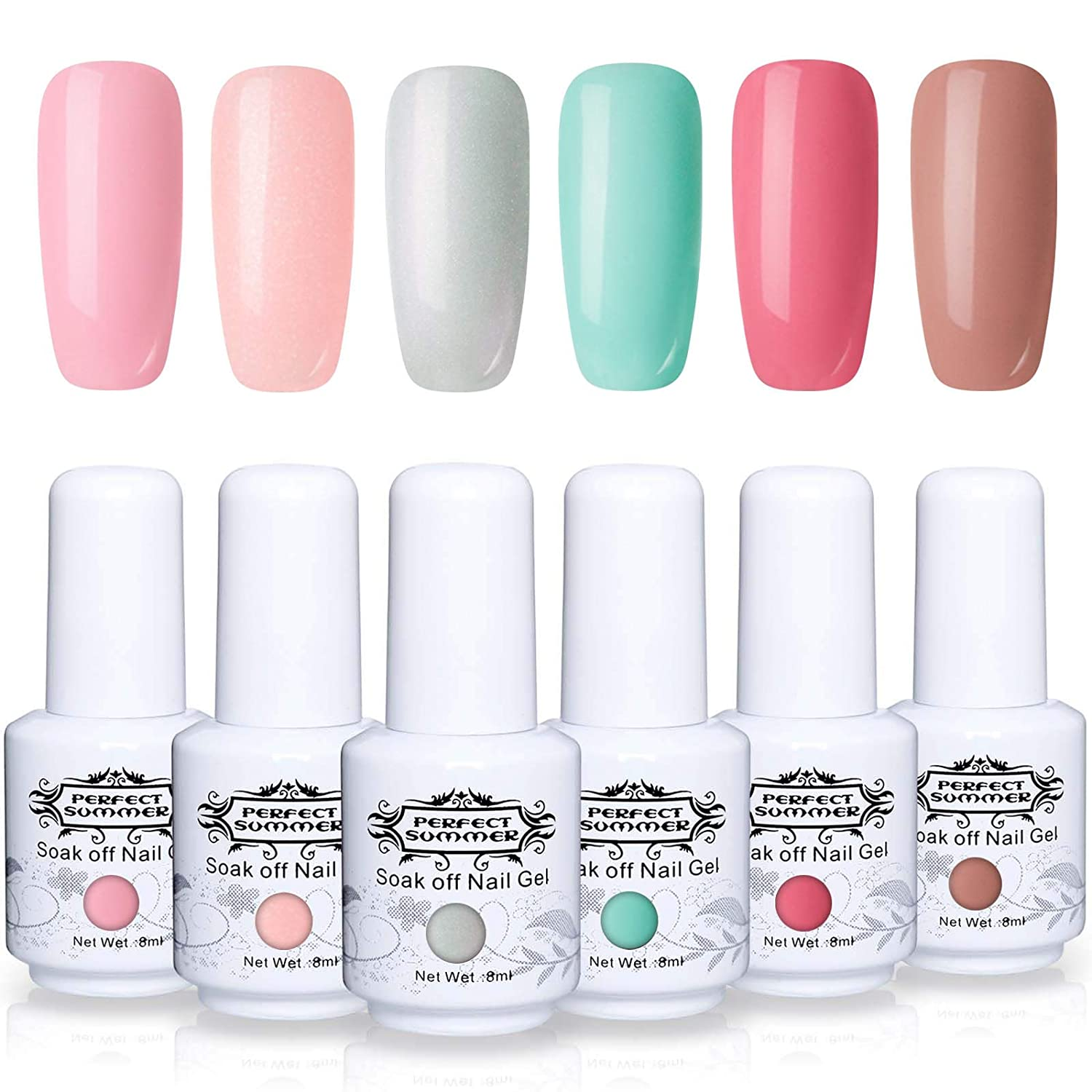 Amazon.com: Perfect Summer Soak Off Gel Esmalte de Uñas ...