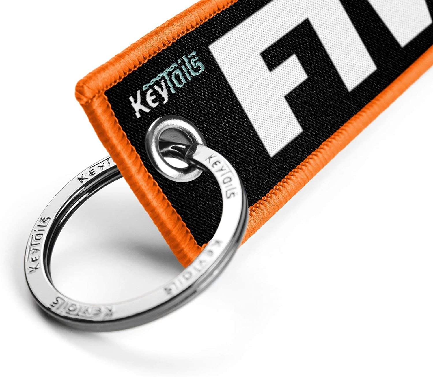 Scooter Premium Quality Key Tag for Motorcycle KEYTAILS Keychains Car FTW - For The Win, Forever Two Wheels ATV UTV