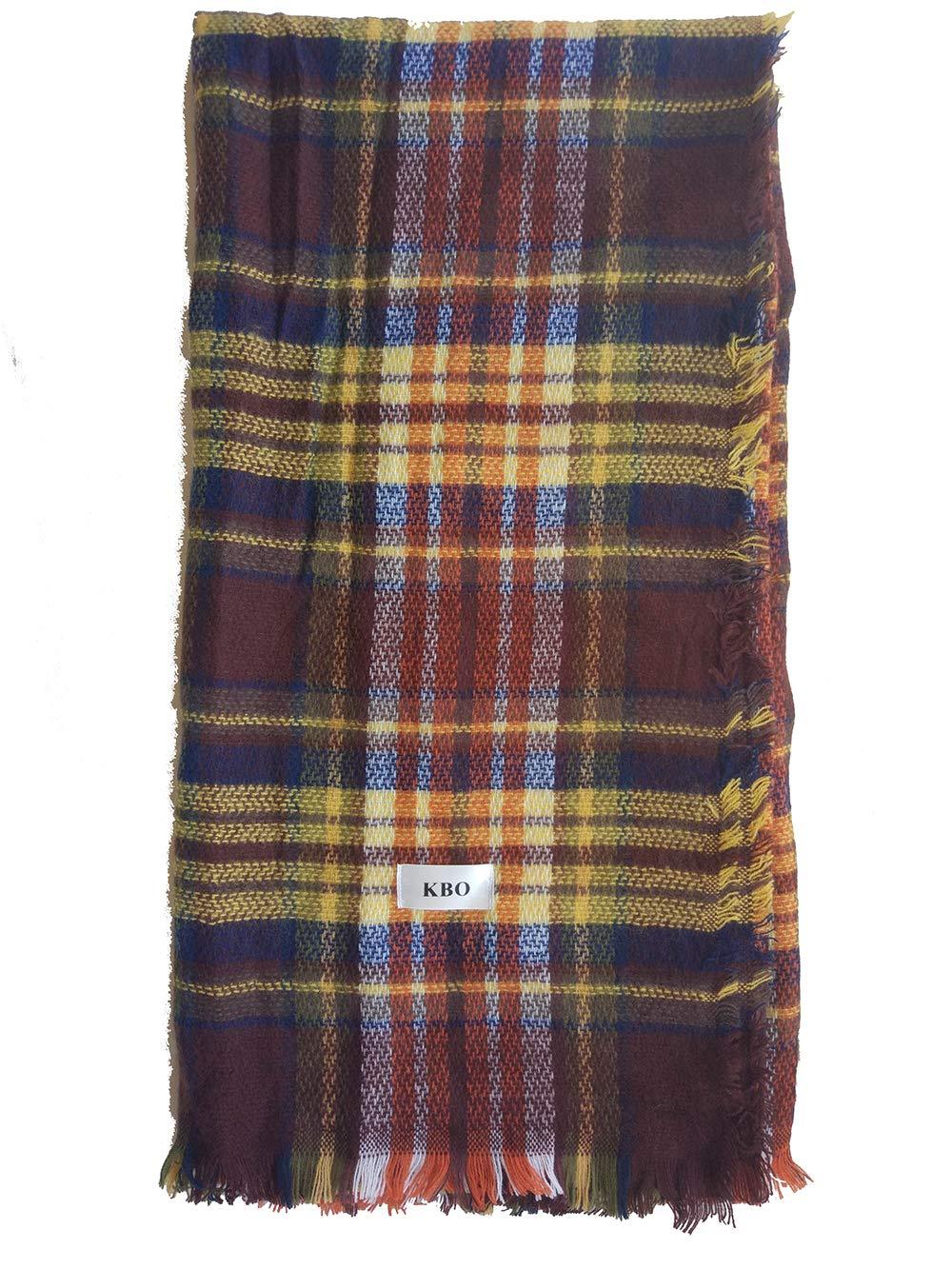 KBO Woman's Eternal Style Scarf, Classic Elegant Carpet Lattice Scarf by K&Bo (Image #3)