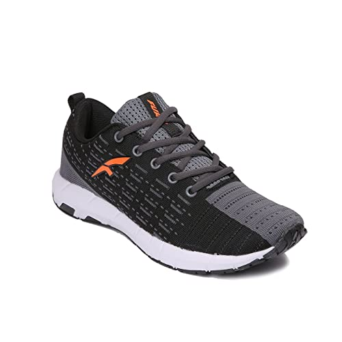 baaa3c9e071 Furo (By Red Chief) Black Men s Running Shoes  Buy Online at Low Prices in  India - Amazon.in