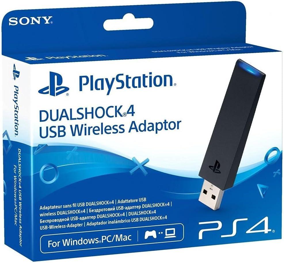 Amazon.com: Sony DUALSHOCK 4 USB Wireless Adapter - PlayStation 4 ...