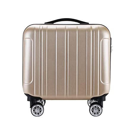 PINCHU Equipaje Portátil De La Cabina 4 Ruedas Business Trolley Computer Maletín Carry On Roller Cases