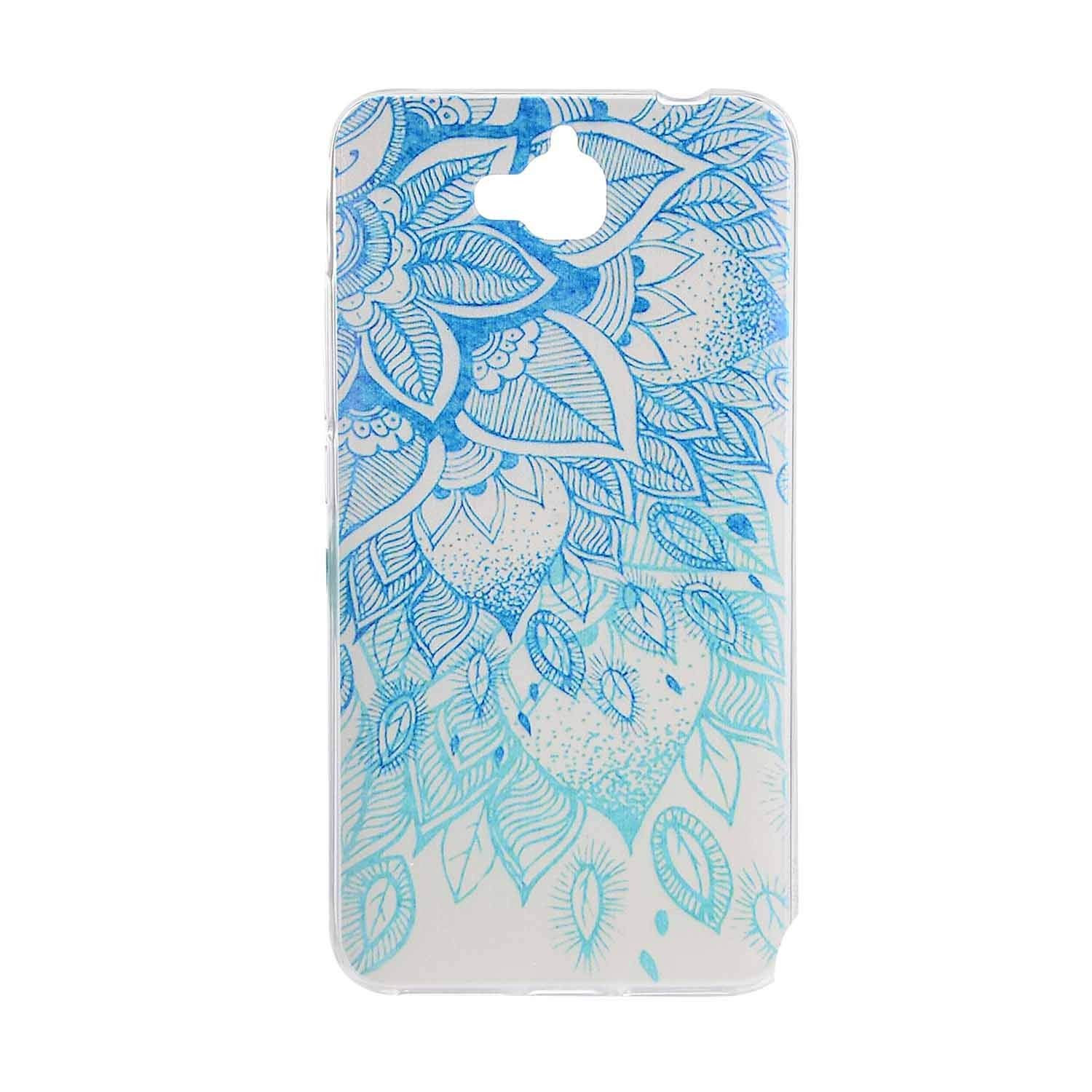 Amazon.com: Cartoon Flower Butterfly Bear Tree Cute Back Cover Silicon Gel Soft TPU Mobile Phone Case for Huawei Y6 PRO Coque Honor 4C Pro +,7,for Huawei Y6 ...