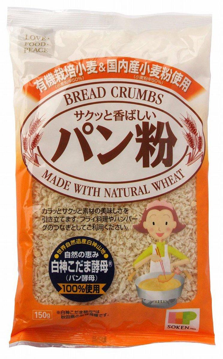 Sokensha organic farming & domestic wheat bread crumbs 150gX5 bags