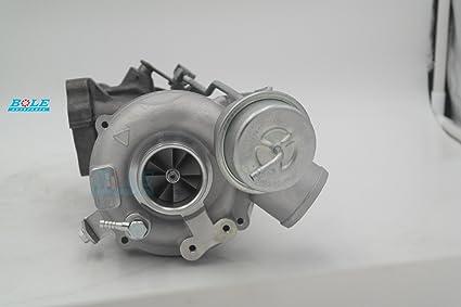 Turbo K04 53049880025 on ASJ/AZR for Audi RS 4 V6 Biturbo Links Left side