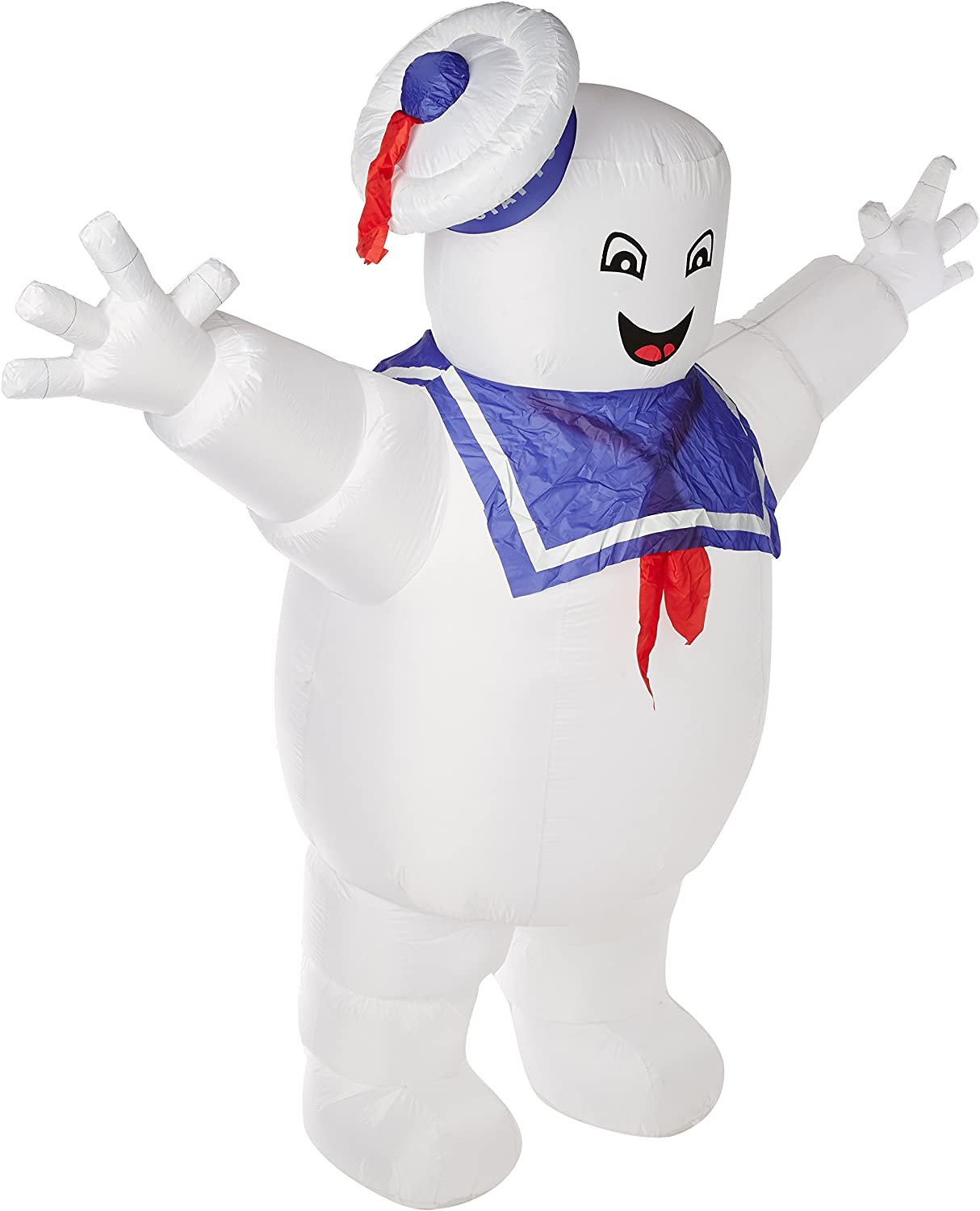 Stay Puft Marshmallow Man Costume Kids Inflatable Ghostbusters Halloween