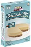 Grain-Free Cheesecake Mix for Dogs with Coconut Crumble Crust - Just Add Water for Cake for Dogs in Salted Caramel Flavor