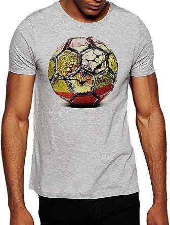 De fútbol bandera de España Camiseta para hombre Gris gris Large ...