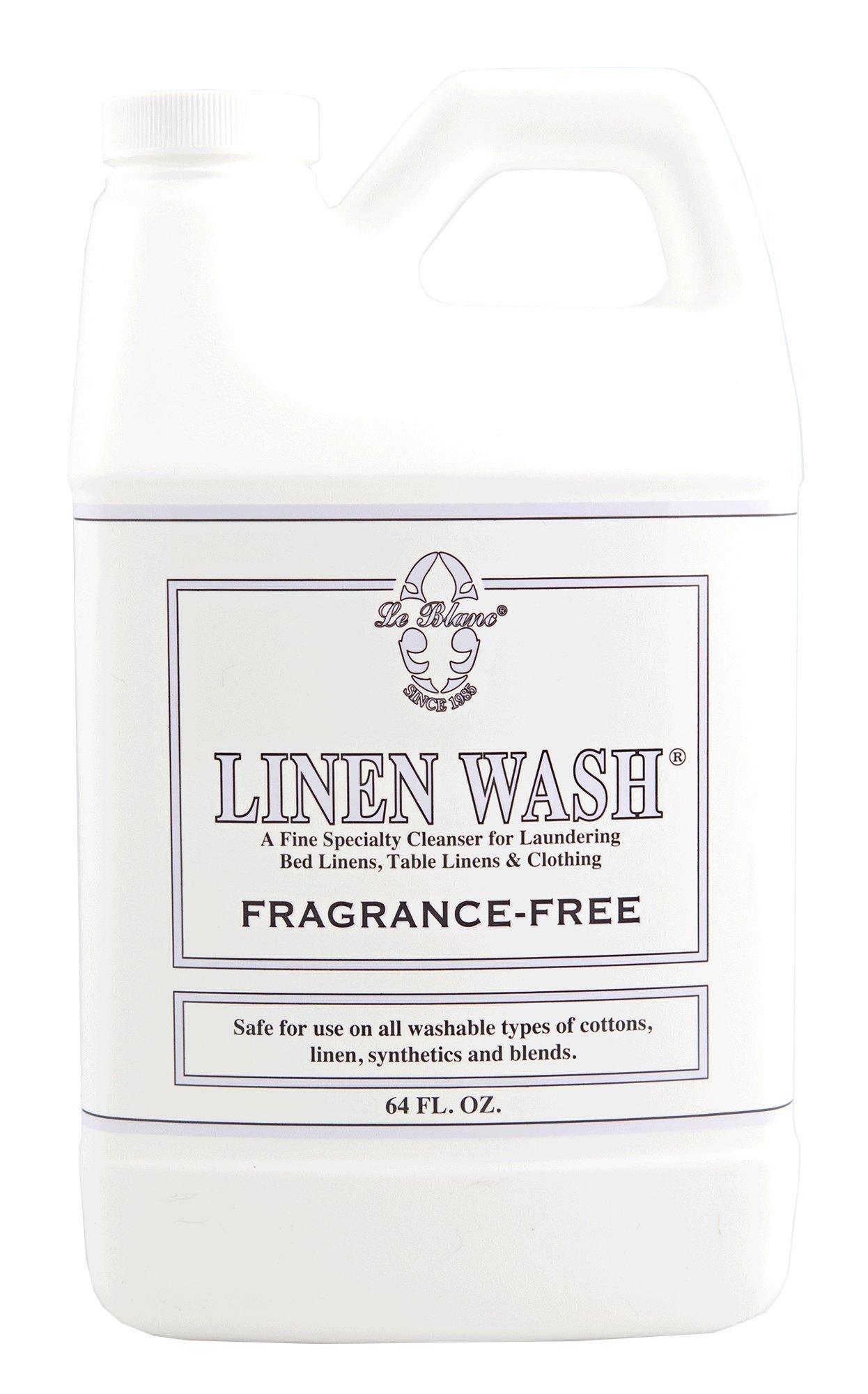 Le Blanc® Fragrance Free Linen Wash - 64 FL. OZ, 3 Pack by LE BLANC (Image #1)