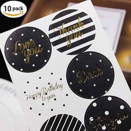 T-shin 60 Pegatinas en Forma de corazón con diseño decoración de Pasteles, decoración de Bodas, Fiestas, Regalos, etc.