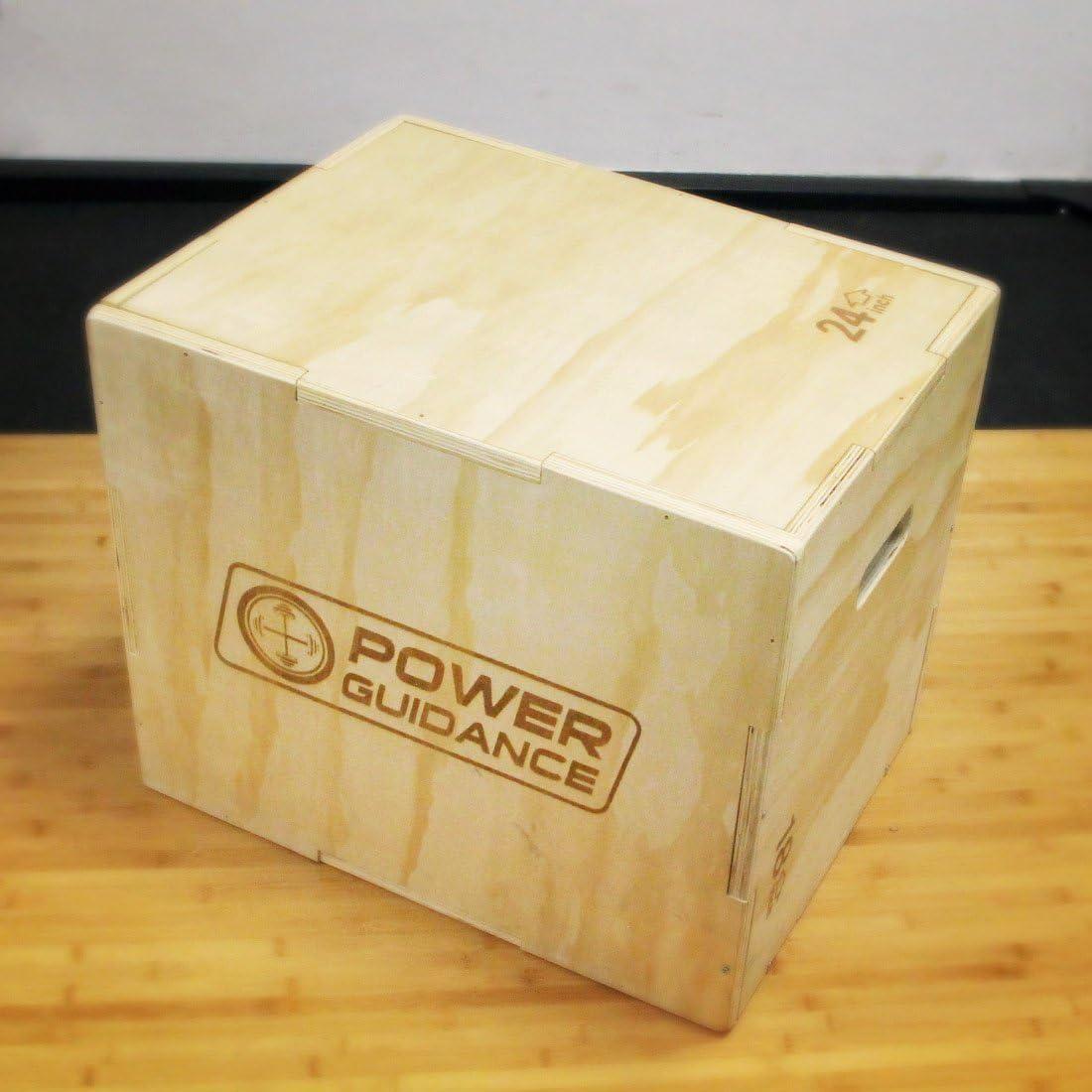 Plyo Jump Box Power Guidance 3 in 1 Pliometrica Saltare Scatola Ideale per Allenamento a Croce