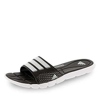 8c0fb7d8232b8 Adidas AdiPure 360 Slide Women Badelatschen core black-white-iron ...