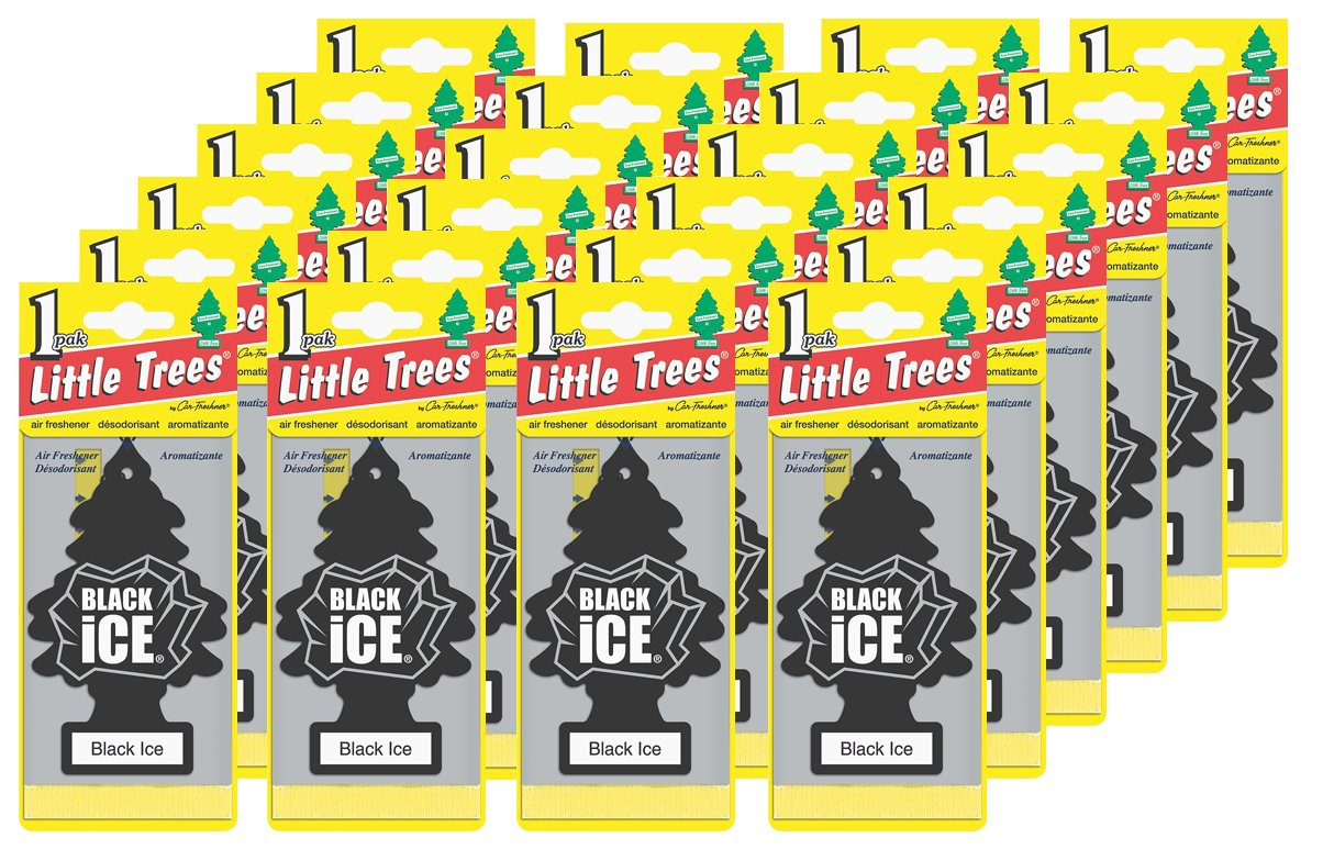 Little-Trees Black Ice Little Tree Air Freshener- 24 Pack by Little Trees