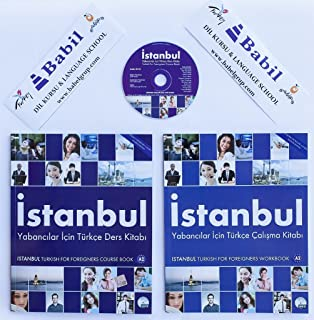 Turkish a1 for foreigners istanbul beginner course book with audio turkish for foreigners a2 istanbul elementary course book with audio cd workbook m4hsunfo