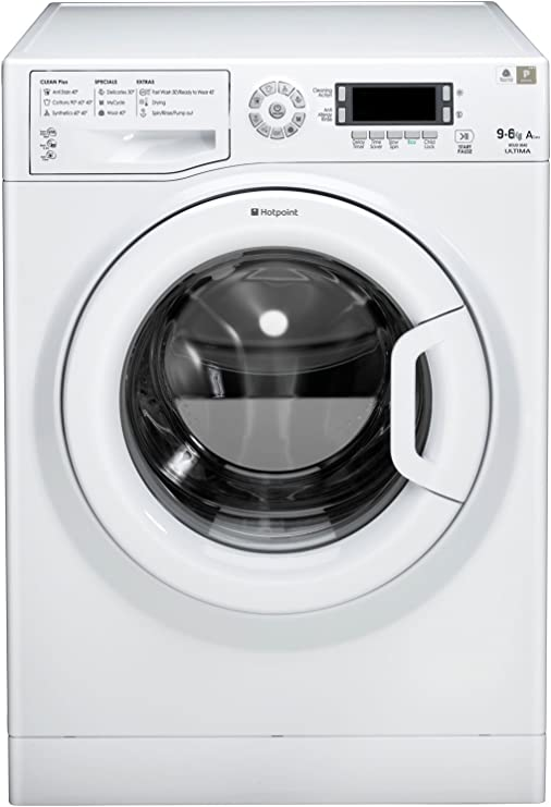Hotpoint WDUD 9640P Independiente Carga frontal A Blanco lavadora ...
