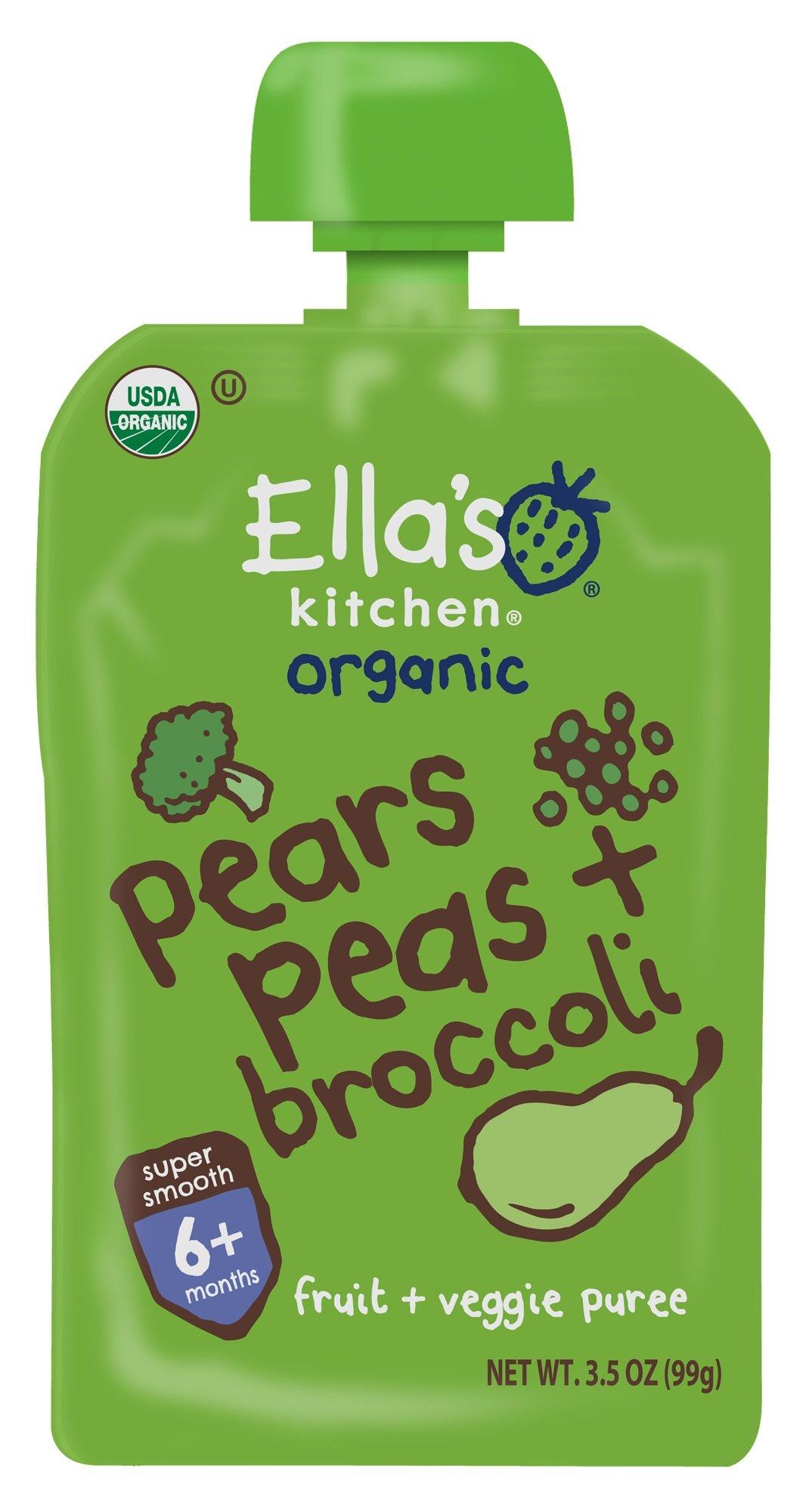 Amazon.com : Ella's Kitchen Organic 6+ Months Baby Food ...