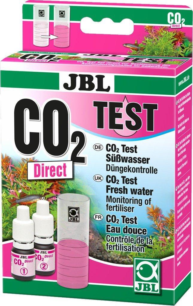 JBL CO2 Direct Test-Set, Test rapide pour déterminer la teneur en dioxyde de carbone en aquarium d'eau douce 2541600