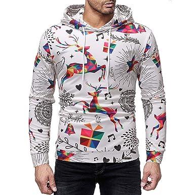 c80107fe15c Solde Christmas Sweatshirt Vert Homme Hiver
