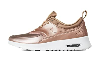 d5dbd1c6ba Amazon.com | Nike Air Max Thea SE Womens Metallic Red Bronze 861674 ...