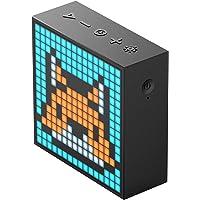Divoom TimeBox Evo Portable Bluetooth Speaker w LED Light Pixel Art Creation BLK