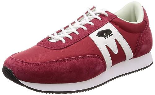 Karhu - Zapatillas de Sintético para Hombre Rojo Red White: Amazon.es: Zapatos y complementos