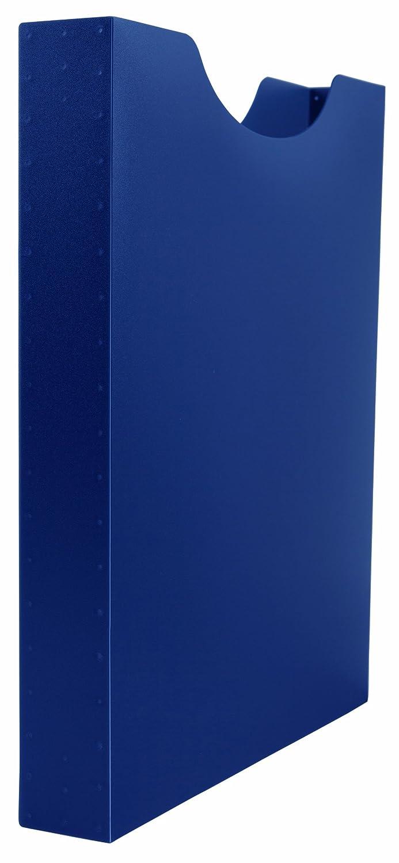 F/üllh/öhe Idena 225167 4 cm blau A4 Hochformat Heftbox