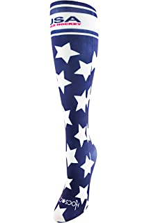 Hocsocx Ice Giraffe Shin Guard Rash UNDER Socks at Amazon Women s ... 447fc82b9d
