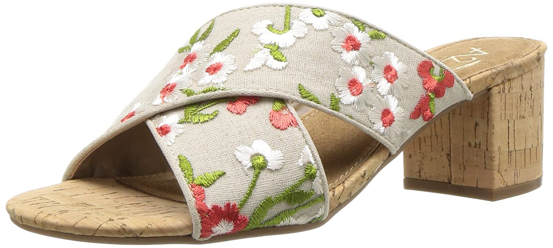 Aerosoles Women's Midday Slide Sandal B076J3RYNW 9 W US|Floral Combo