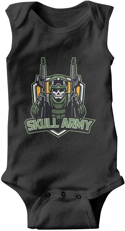 Voslin Us Army Knight Sticker Unisex Bodysuit Baby Girl Funny Baby Clothes