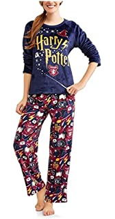Richard Leeds International Womens Harry Potter Super Minky Fleece Pajamas- Top & Pants