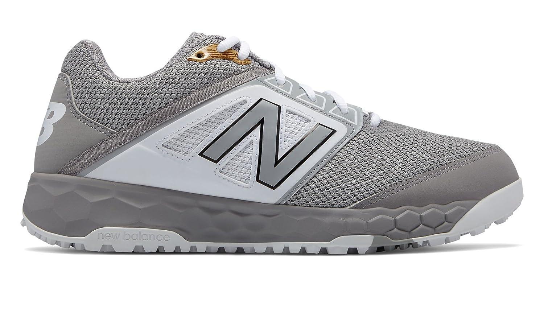 New Balance Men's 3000v4 Turf Baseball Shoe B075R7FK7H 11.5 2E US Grey/White