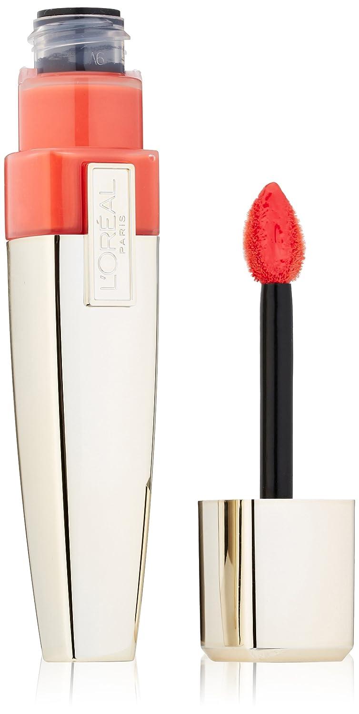L'Oreal Paris Colour Caresse Wet Shine Lip Stain, Coral Tattoo, 0.21 Ounces