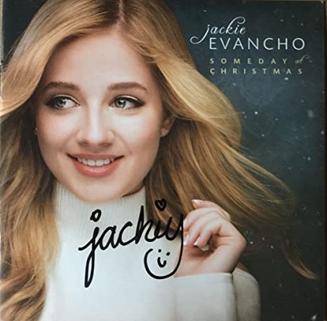 Jackie Evancho Someday At Christmas.Jackie Evancho Someday At Christmas Signed Cd Booklet Autographed