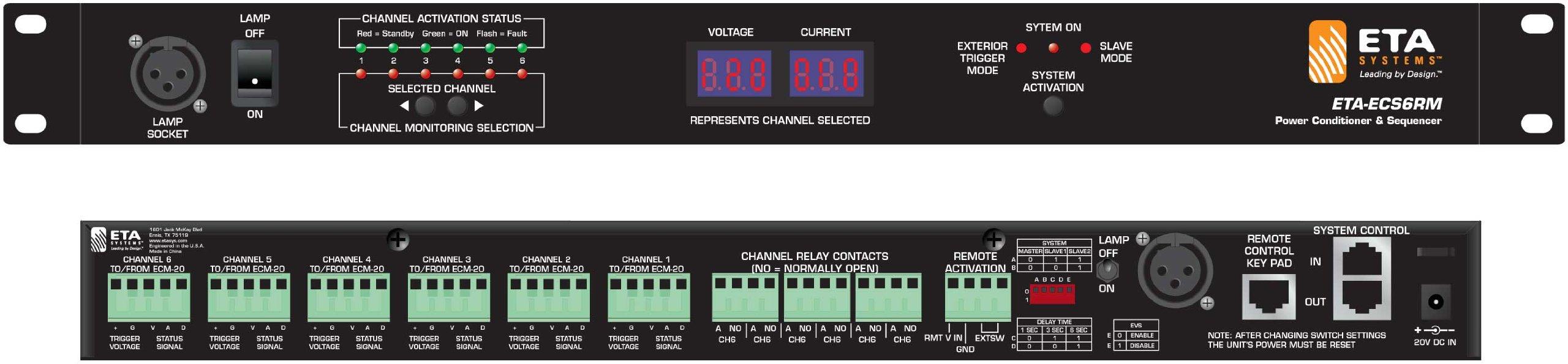 ETA-ECS6RM Electrical Control Sequencer