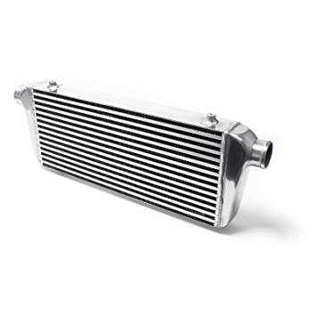 Intercooler universal LLK Aluminium Turbo INTERCOOLER No.006: Amazon.es: Coche y moto