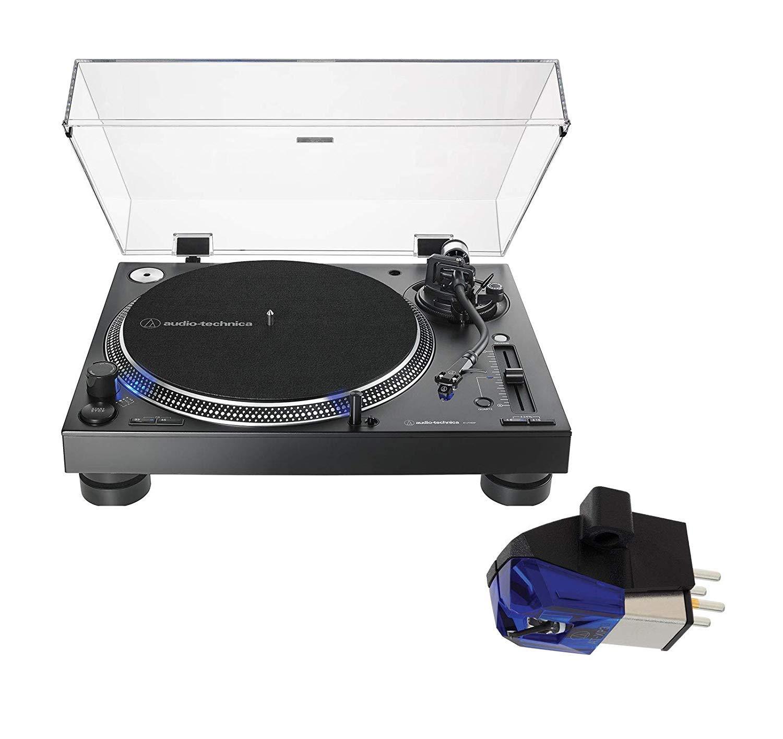 Audio Technica AT-LP140XP - Juego de Tocadiscos para DJ con Cable ...