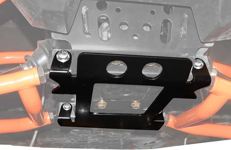 Crew SuperATV Heavy Duty Frame Support Stiffener for Polaris Ranger XP 1000