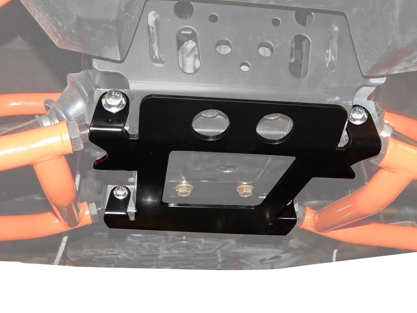 SuperATV Polaris RZR 1000/4 / 900 / S/Turbo / General Front Suspension Frame Stiffener - Black by SuperATV.com
