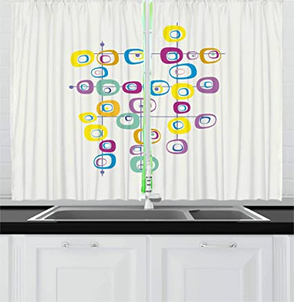 Cool Kitchen Curtains New Decorating Design