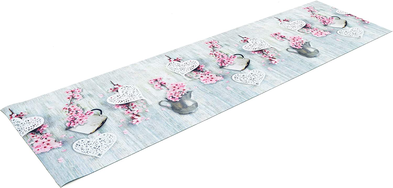 Casa Service Passatoia su Misura Photoprint Larghezza 52cm Bagno e Cucina Stampa Digitale Spezie Antisfilo Lavabile in Lavatrice Antiscivolo Fondo Gomma Made in Italy 52X100 cm