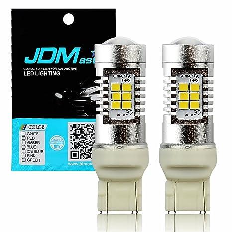 JDM ASTAR extremadamente brillante PX Chips 7440 7441 7443 7444 blanco Copia de seguridad inverso LED