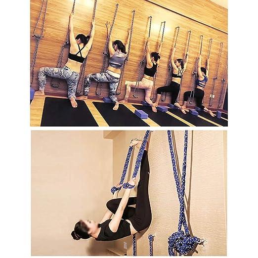 LZ Iyengar Yoga Rope Sling Kit de Montaje en Pared ...