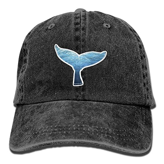 e62d57fb516 Amazon.com  Danlive Baseball Cap Whale Tail - Adjustable Trucker Hat ...