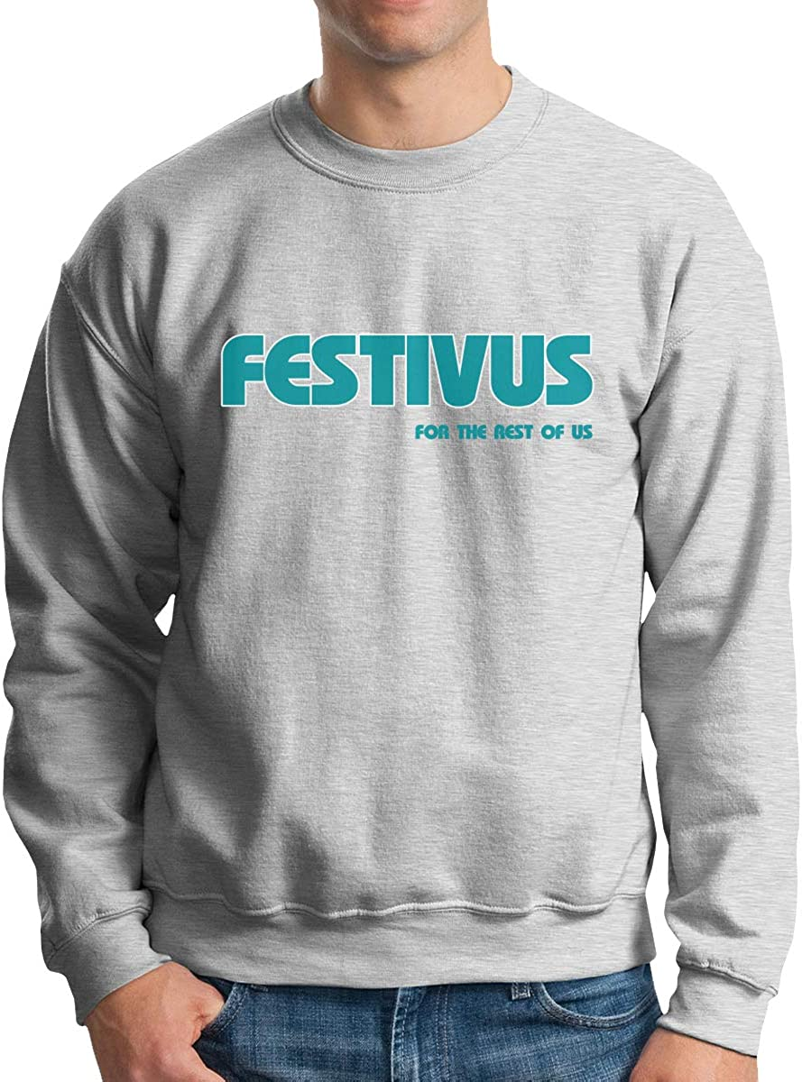 Festivus for The Rest of US Classic Pullovers Sweatshirt Mens Crew Neck Sweater