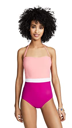 77e4fab5db6 Amazon.com: Flagpole Women's Rita One Piece, Flamingo/Multi, Large ...