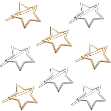 Details about  /Hollow Out Star Tassel Hairpin Hair Pin girls Hair Clips for Women Stylish WA